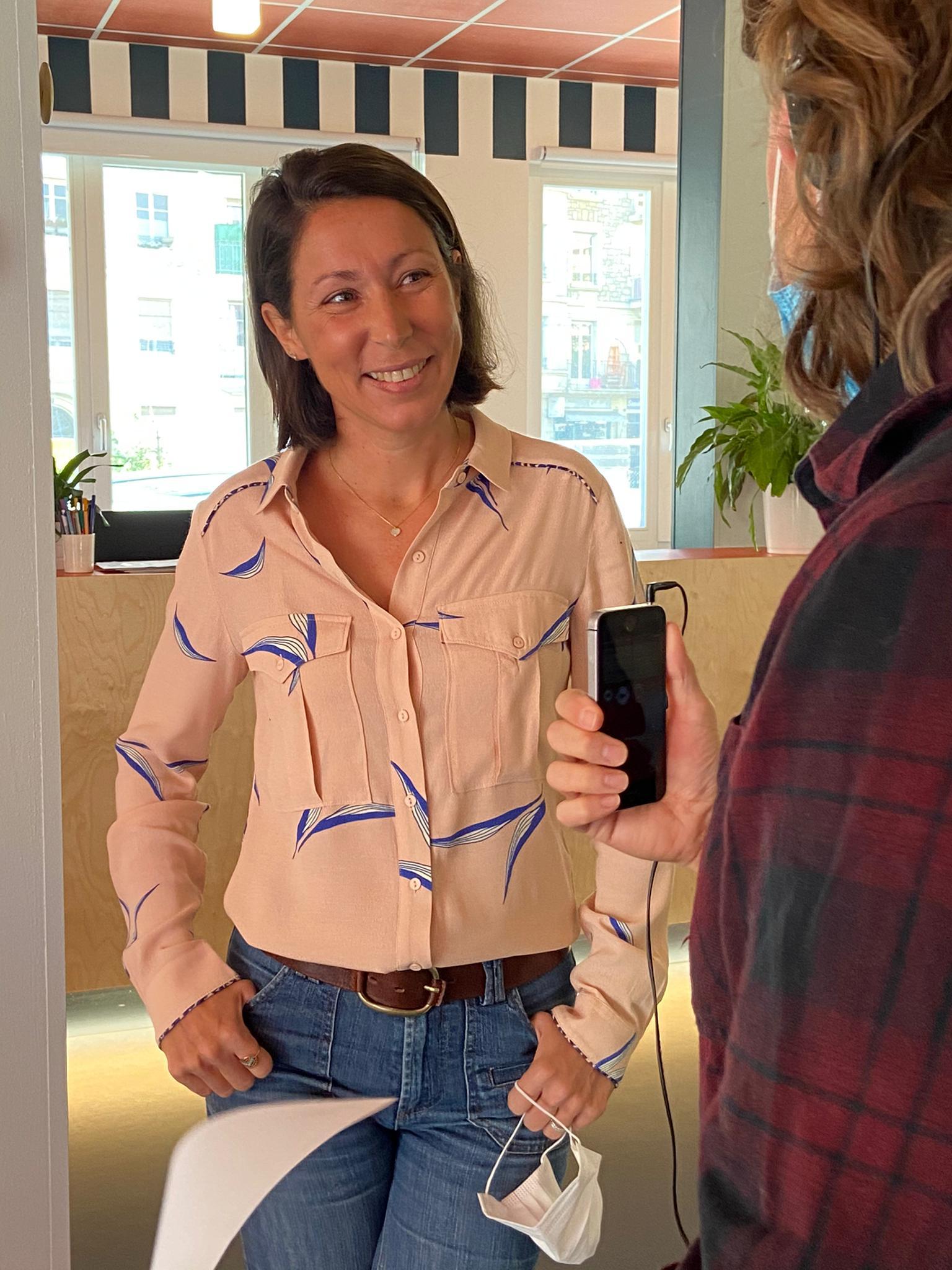 Caroline Widmer Directrice de -Pulse Incubateur HES