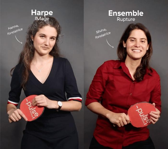 PITCH PONG avec les projets de la HEM : HarpeIMage et Ensemble Rupture